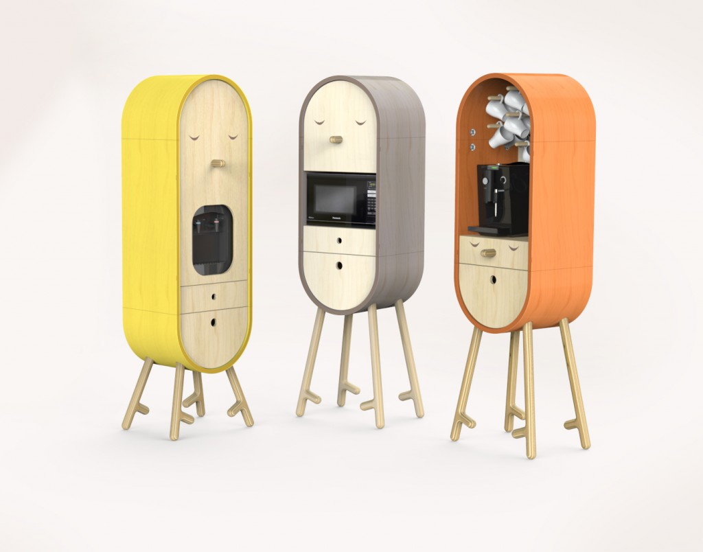 LOLO The capsular micro kitchen