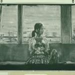 黒板にチョークで絵を描き動画にしたCM[カロリーメイト CM|「見せてやれ、底力。」篇 メイキングドキュメンタリー]
